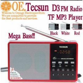 Радиоприемник, цифровой приемник Tecsun d3, с поддержкой mp3
