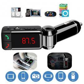 Bluetooth MP3 плеер, громкая связь, FM модулятор  c USB зарядкой