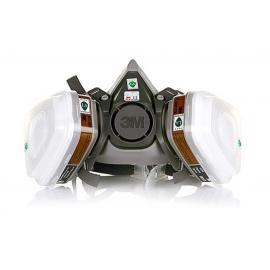 Полумаска респиратор  6200 3М с дополнительными фильтрами