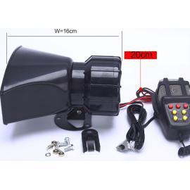 СГУ сирена с микрофоном 7-тональная 100 Вт