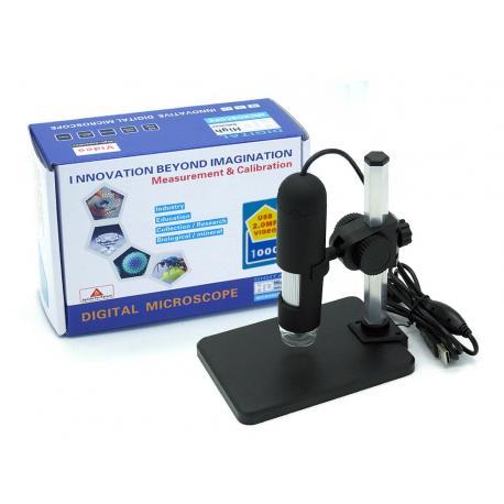 Цифровой HD USB микроскоп 1000х с led подсветкой