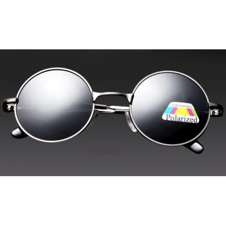 Круглые солнцезащитные очки с поляризацией