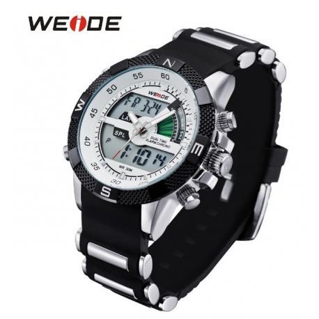 Мужские часы Weide с двойной индикацией