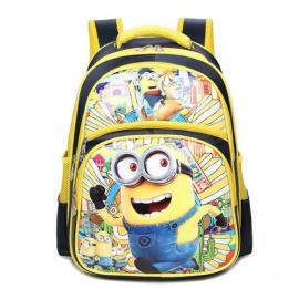 Школьный рюкзак. Миньоны.