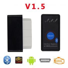 Bluetooth адаптер elm 327 v.1.5 с кнопкой