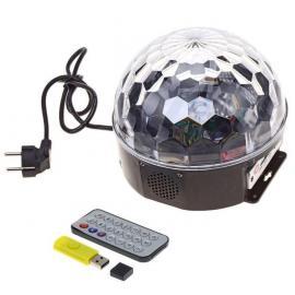Светодиодный диско шар. USB, флешка