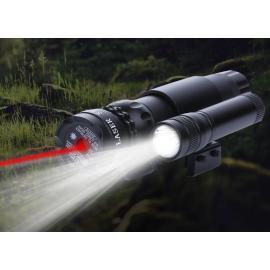 Лазерный целеуказатель с фонариком