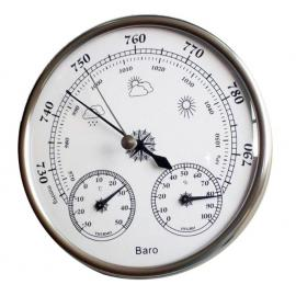 Барометр анероид механический с измерением температуры и влажности