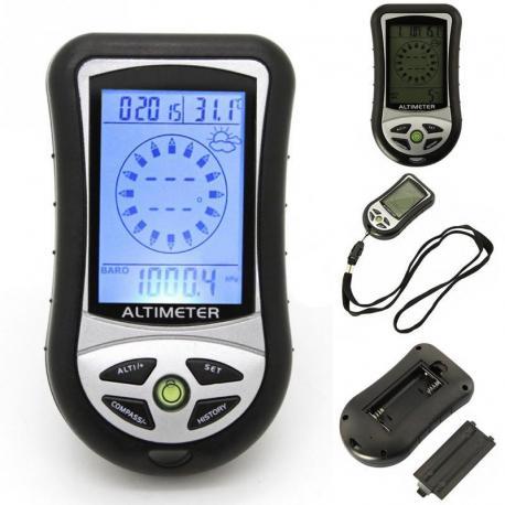 Карманный термометр, барометр, высотомер