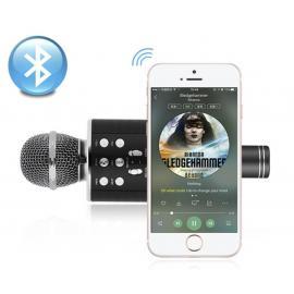 Беспроводной караоке-микрофон с динамиком