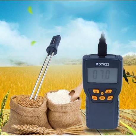 Измеритель для определения влажности зерна