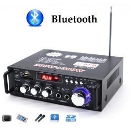 Усилитель звука и голоса Bluetooth, FM, USB, SD card
