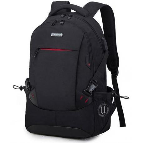 Стильный рюкзак с USB и mini jack 3.5 мм