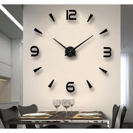 Интерьерные настенные 3D часы  №5