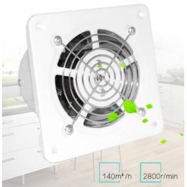 Вентилятор канальный 100 мм, 25 Вт, нержавейка