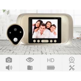 HD глазок квартирный с дверным звонком