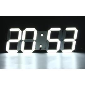 Большие святящиеся часы  3D LED с пультом