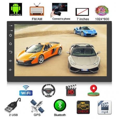 "Магнитола 7""  Android 8.1, wi-fi, Bluetooth, GPS"