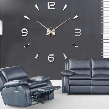 Большие  настенные 3D часы  №3