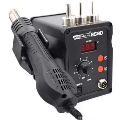 Паяльная станция термо-фен 858D