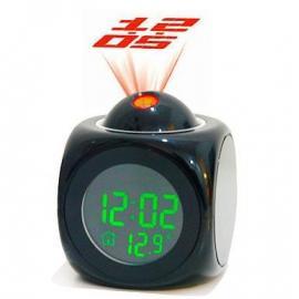 Будильник с проекцией  и датчиком температуры