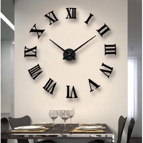 Большие настенные  3D часы  №4