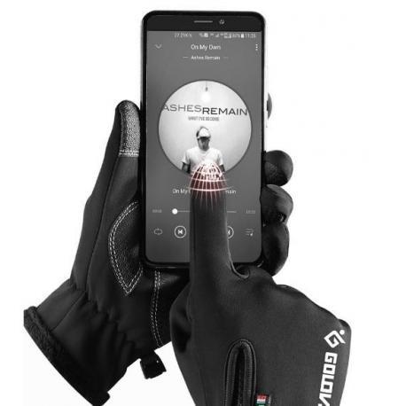 Непромокаемые сенсорные перчатки