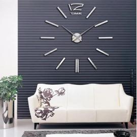 Большие настенные 3D часы  №1