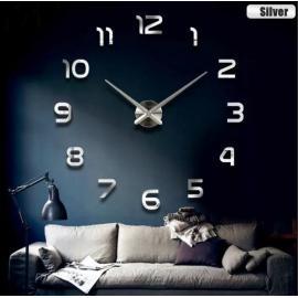 Большие настенные 3D часы  №6