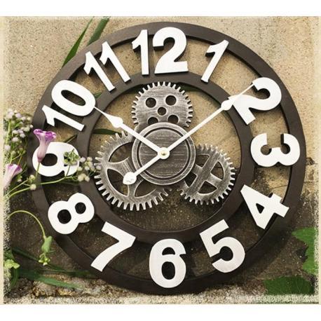 """Настенные 3D часы """"шестеренки"""""""