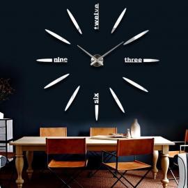 Бескаркасные настенные 3D часы  №7