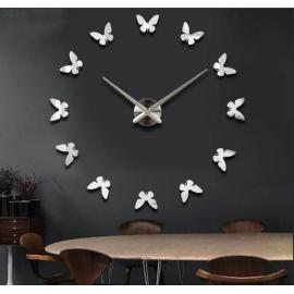 Большие настенные 3D часы  №8