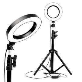 Кольцевая (круговая ) селфи лампа 26 см