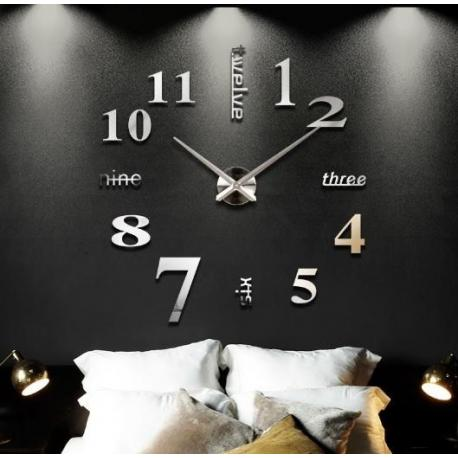 Большие  настенные 3D часы  №5