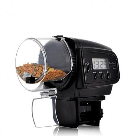 Автоматическая кормушка для рыб с ЖК-дисплеем