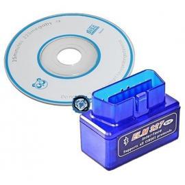 Bluetooth адаптер elm 327 elm327 OBD II + минидиск с ПО. Новая версия в миникорпусе!